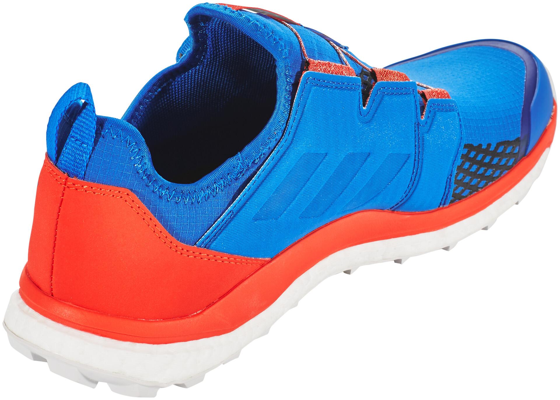 adidas TERREX Agravic Boa Schoenen Heren, blue beautycore blackactive red